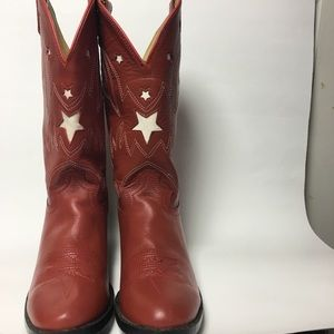 Justin Women's Leather Western Cowboy Boots